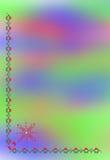 χρωματισμένο έγγραφο Στοκ Φωτογραφίες