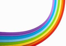 Χρωματισμένο έγγραφο Στοκ φωτογραφίες με δικαίωμα ελεύθερης χρήσης