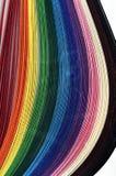 Χρωματισμένο έγγραφο Στοκ Εικόνες