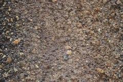 χρωματισμένο αμμοχάλικο Η παραγωγή της συντριμμένης πέτρας εγκαταλειμμένο ορυχείο στοκ φωτογραφία με δικαίωμα ελεύθερης χρήσης