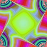 χρωματισμένο ανασκόπηση ουράνιο τόξο Στοκ Φωτογραφίες