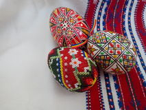 χρωματισμένο ανασκόπηση Πάσχας αυγών eps8 διάνυσμα τουλιπών μορφής κόκκινο στοκ φωτογραφία με δικαίωμα ελεύθερης χρήσης