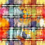 Χρωματισμένο αφηρημένο άνευ ραφής σχέδιο στο ύφος γκράφιτι ποιοτική διανυσματική απεικόνιση για το σχέδιό σας διανυσματική απεικόνιση