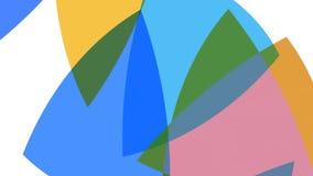 Χρωματισμένο αφηρημένο υπόβαθρο για το σχέδιο, το κείμενο ή το λογότυπό σας 4k Κομψό αφηρημένο σκηνικό φιλμ μικρού μήκους