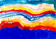 χρωματισμένο βρώμικο μελάν Στοκ φωτογραφίες με δικαίωμα ελεύθερης χρήσης