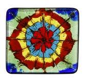 χρωματισμένο γυαλί κεραμ Στοκ εικόνες με δικαίωμα ελεύθερης χρήσης