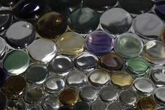 Χρωματισμένο γυαλί στοκ εικόνα