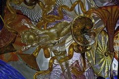 Χρωματισμένο γυαλί Ceiling2 Στοκ Εικόνα