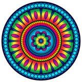 Χρωματισμένο επιτυχία mandala Στοκ Εικόνες