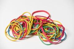 χρωματισμένο ζώνες λάστιχ&omi Στοκ εικόνα με δικαίωμα ελεύθερης χρήσης