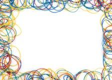 χρωματισμένο ζώνες λάστιχ&omi Στοκ Φωτογραφία