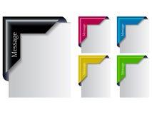 χρωματισμένο καθορισμέν&omicron διανυσματική απεικόνιση