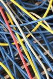 χρωματισμένο καλώδιο Στοκ φωτογραφία με δικαίωμα ελεύθερης χρήσης
