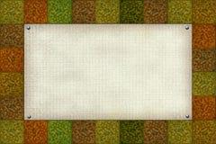 χρωματισμένο κενό πρότυπο Στοκ φωτογραφία με δικαίωμα ελεύθερης χρήσης