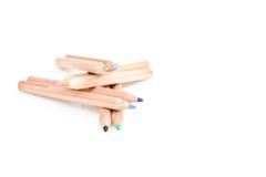 χρωματισμένο κτήριο μολύβ&io στοκ εικόνες
