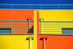Χρωματισμένο κτήριο Στοκ Φωτογραφία