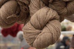 χρωματισμένο μαλλί Στοκ Φωτογραφίες
