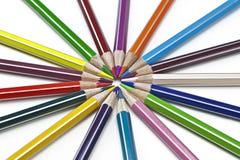 χρωματισμένο μολύβι Στοκ Εικόνα