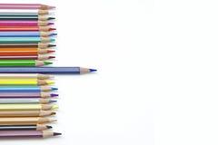χρωματισμένο μολύβι Στοκ φωτογραφίες με δικαίωμα ελεύθερης χρήσης