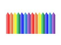 Χρωματισμένο μολύβι VAX Στοκ εικόνα με δικαίωμα ελεύθερης χρήσης