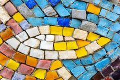Χρωματισμένο μωσαϊκό πετρών Στοκ φωτογραφίες με δικαίωμα ελεύθερης χρήσης