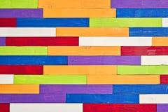 Χρωματισμένο ξύλινο παρκέ ραβδιών στοκ φωτογραφίες με δικαίωμα ελεύθερης χρήσης