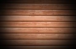 Χρωματισμένο ξύλινο σύστασης πλήρες τραχύ αγροτικό παλαιό πορτοκαλί σκοτάδι σχεδίων πλαισίων οριζόντιο Στοκ Εικόνες