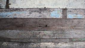 Χρωματισμένο παλαιό υπόβαθρο σύστασης τοίχων ξύλου και σανίδων Στοκ Φωτογραφίες