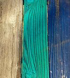 Χρωματισμένο παρμένο ξύλο Στοκ φωτογραφία με δικαίωμα ελεύθερης χρήσης