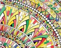 Χρωματισμένο περίληψη υπόβαθρο που αποτελείται από τις διαφορετικές μορφές διανυσματική απεικόνιση