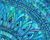 Χρωματισμένο περίληψη υπόβαθρο που αποτελείται από τις διαφορετικές μορφές ελεύθερη απεικόνιση δικαιώματος
