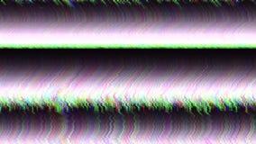 Χρωματισμένο περίληψη ψηφιακό υπόβαθρο στοιχείων δυσλειτουργίας mosh απόθεμα βίντεο