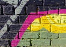 Χρωματισμένο περίληψη σχέδιο Στοκ Εικόνες