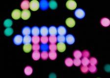 Χρωματισμένο περίληψη υπόβαθρο κουμπιών Στοκ Εικόνες