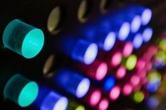 Χρωματισμένο περίληψη υπόβαθρο κουμπιών Στοκ φωτογραφία με δικαίωμα ελεύθερης χρήσης