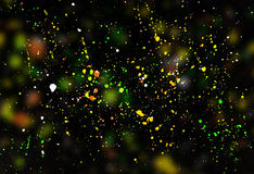 Χρωματισμένο περίληψη υπόβαθρο σταγόνων χρωμάτων Στοκ φωτογραφία με δικαίωμα ελεύθερης χρήσης