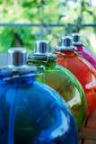 χρωματισμένο πετρέλαιο λαμπτήρων Στοκ φωτογραφίες με δικαίωμα ελεύθερης χρήσης