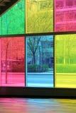 χρωματισμένο πλακάκια παρ στοκ εικόνες με δικαίωμα ελεύθερης χρήσης