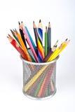 χρωματισμένο πολυ μολύβι Στοκ φωτογραφίες με δικαίωμα ελεύθερης χρήσης