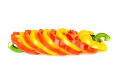 χρωματισμένο πολυ πιπέρι Στοκ Φωτογραφίες