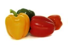 χρωματισμένο πολυ πιπέρι Στοκ Εικόνα