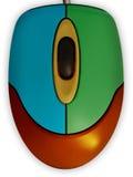 χρωματισμένο ποντίκι πολ&upsil στοκ φωτογραφία με δικαίωμα ελεύθερης χρήσης