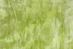 Χρωματισμένο πράσινο υπόβαθρο συμπαγών τοίχων Στοκ Εικόνα