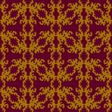 χρωματισμένο πρότυπο άνευ &rh Εκλεκτής ποιότητας στοιχεία επίσης corel σύρετε το διάνυσμα απεικόνισης Στοκ Εικόνες