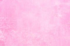 Χρωματισμένο ροζ υπόβαθρο σύστασης τοίχων Στοκ Εικόνες