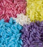 χρωματισμένο ρύζι σιταριού Στοκ εικόνα με δικαίωμα ελεύθερης χρήσης