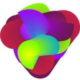 Χρωματισμένο σαλιγκάρι 1 Ελεύθερη απεικόνιση δικαιώματος