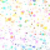 Χρωματισμένο σημεία λουλούδι Στοκ φωτογραφίες με δικαίωμα ελεύθερης χρήσης