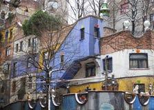 χρωματισμένο σπίτι Στοκ εικόνα με δικαίωμα ελεύθερης χρήσης