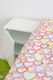 χρωματισμένο σπορείο drapes λ&epsi Στοκ Φωτογραφία
